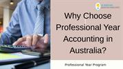 Why Choose professional Year Accounting