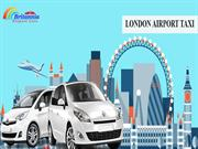 Join Britannia Airport Cars To Book London Airport Taxi And Save With