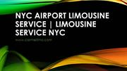 NYC Airport Limousine Service