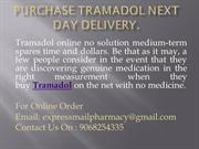 Purchase Tramadol Next DayDelivery.
