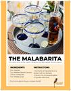 THE MALABARITA Cocktail Spiced Margarita Recipe with Malabar Spiced Li