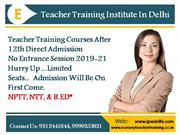 Teacher training course inDelhi