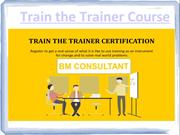 Train the Trainer Course Thane