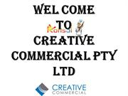 Wel Come To Creative Commercial Pty Ltd