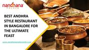 BEST ANDHRA STYLE RESTAURANT IN BANGALORE-converted