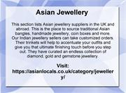 Indian Jewellery, Costume Jewellery, Asian Jewellery
