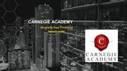 Carnegie Academy-Diversify Your Financial Investments