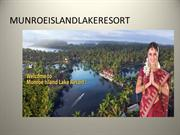 Best Resorts in Kerala , Best Island Resorts