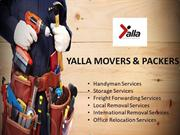 Yalla Movers Dubai | Best International Movers & Packers in Dubai, UAE