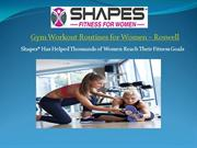 Gym Workout Routines for Women in Roswell