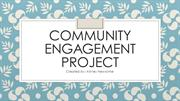 Community Engagement Project