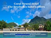 Seychelles hotel offers at Coral Strand Hotel