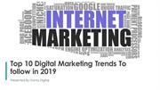 Top 11 Digital Marketing Trends To Follow In 2019