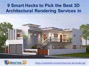 3D Architectural Rendering Services