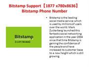 Bitstamp Support【1877 x780x8636】Bitstamp Phone Number