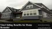 Vinyl Siding Benefits for Home Remodel