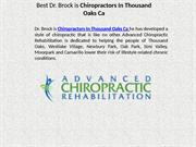 Nick Brock Dc Chiropractors In Thousand Oaks Ca