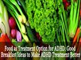 Food as Treatment Option for ADHD
