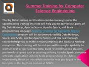 Summer Training for Computer Science Engineering