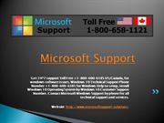 windows tech support phone number canada