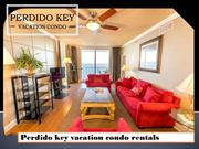 Perdido key vacation condo rentals