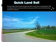 Sell My Vacant Land Fast | Vacant Land Buyers – Quick Land Sell