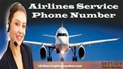Get Flights Reservations Tickets From Airlines Service Phone Number