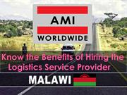 Know the Benefits of Hiring the Logistics Service Provider