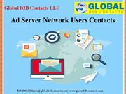 Ad Server Network Users Contacts