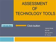 Technology Tool Assessment