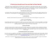 Party Rentals North Hollywood | Call Now (818) 539-7792