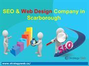 SEO & Web Design Company in Scarborough - Strategy Web
