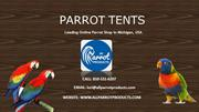 Buy Parrot and Bird Huts and Tents Online – All Parrot Products