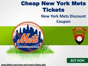 New York Mets Tickets Cheap | New York Mets Tickets Promo Code