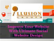 Improve Your Website With Ultimate Social Website Design
