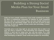 Building a Strong Social Media Plan for Your Small Business