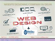 Web Designing & Development Company Delhi, India
