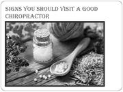 Signs You Should Visit a Good Chiropractor-converted