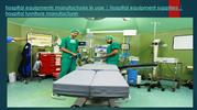 hospital equipments manufactures in uae - hospital equipment suppliers