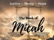THE BOOK OF MICAH - INTRODUCTION