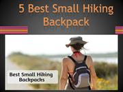 5 Best Small Hiking Backpack