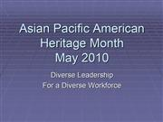 Asian American Month