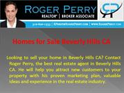 Homes for Sale Beverly Hills CA - Roger Perry
