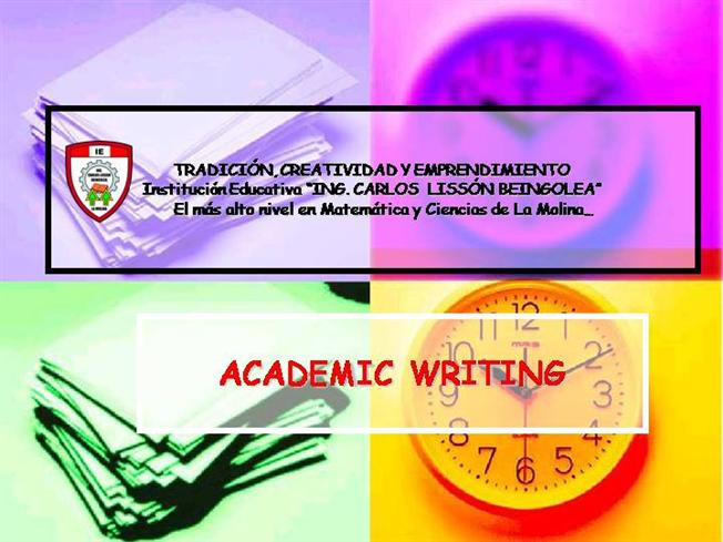 write an academic essay Let us write your academic essay every academic task is your chance to create a brilliant reputation at the university use it and open a perfect way to impress your.