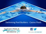 Swimming Pool Builders - Casino Pools