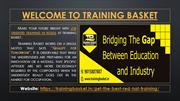 Job Oriented Training in Noida at Training Basket | Training Basket