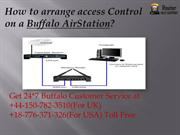How to arrange access Control on a Buffalo AirStation