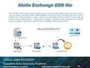 Stella EDB to PST software