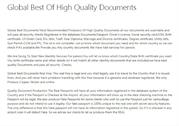 High Quality Documents on Quality Document Production