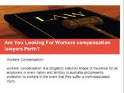 workers compensation lawyers perth ppt